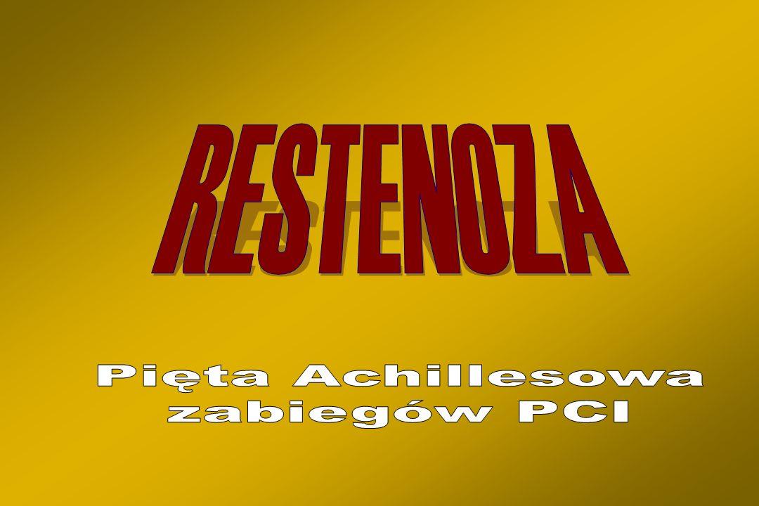RESTENOZA Pięta Achillesowa zabiegów PCI