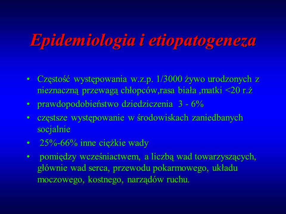 Epidemiologia i etiopatogeneza