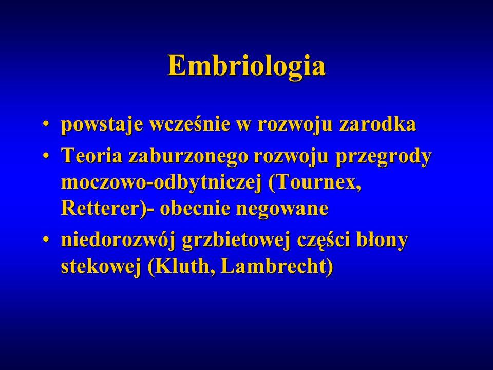 Embriologia powstaje wcześnie w rozwoju zarodka