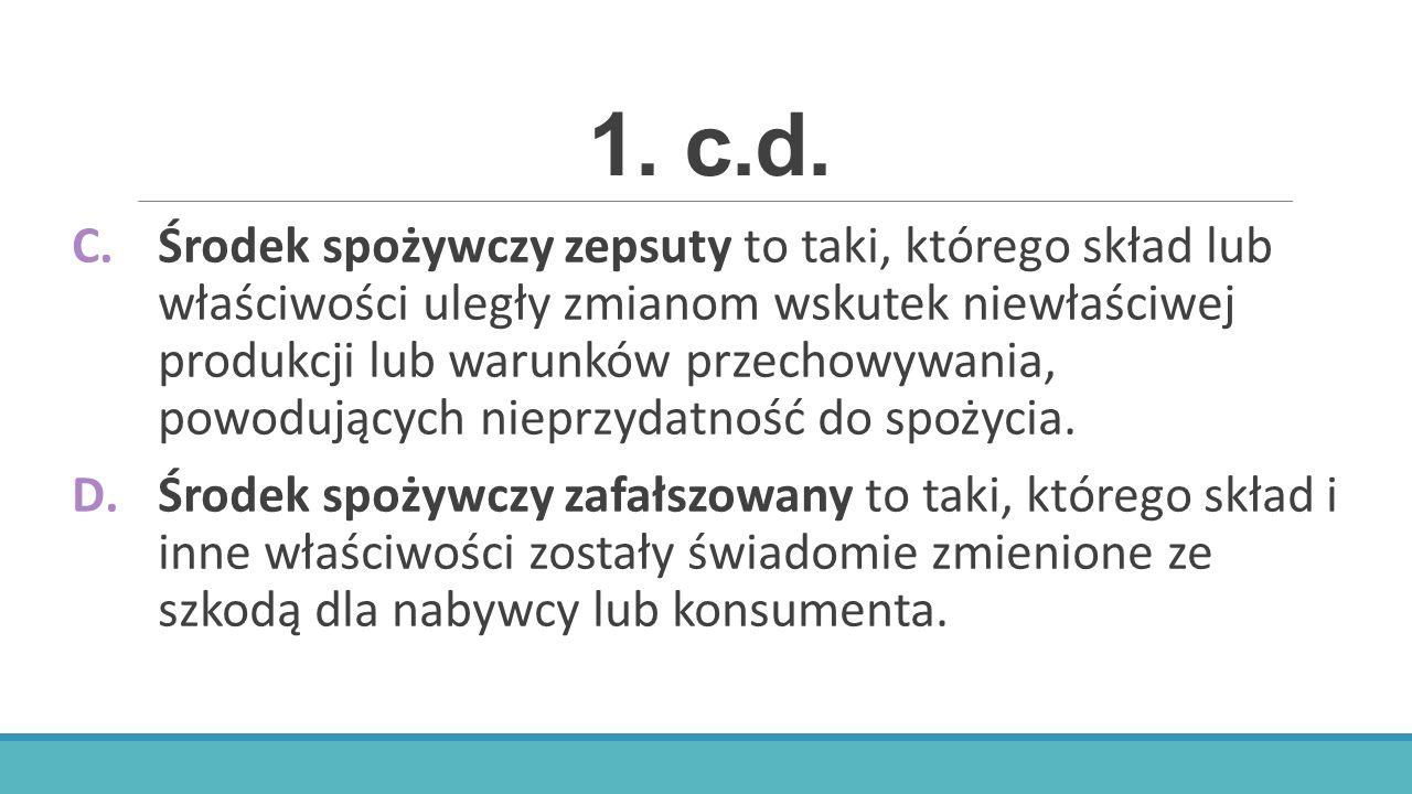 1. c.d.