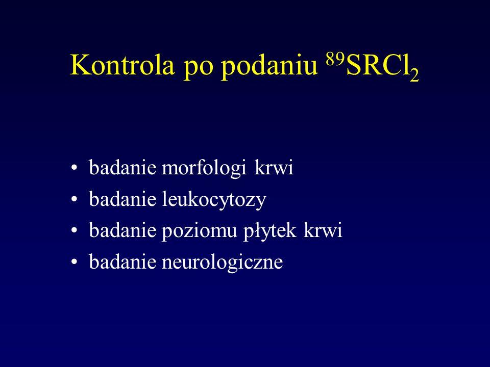 Kontrola po podaniu 89SRCl2