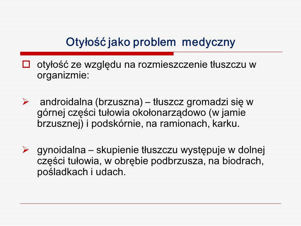 Otyłość jako problem medyczny