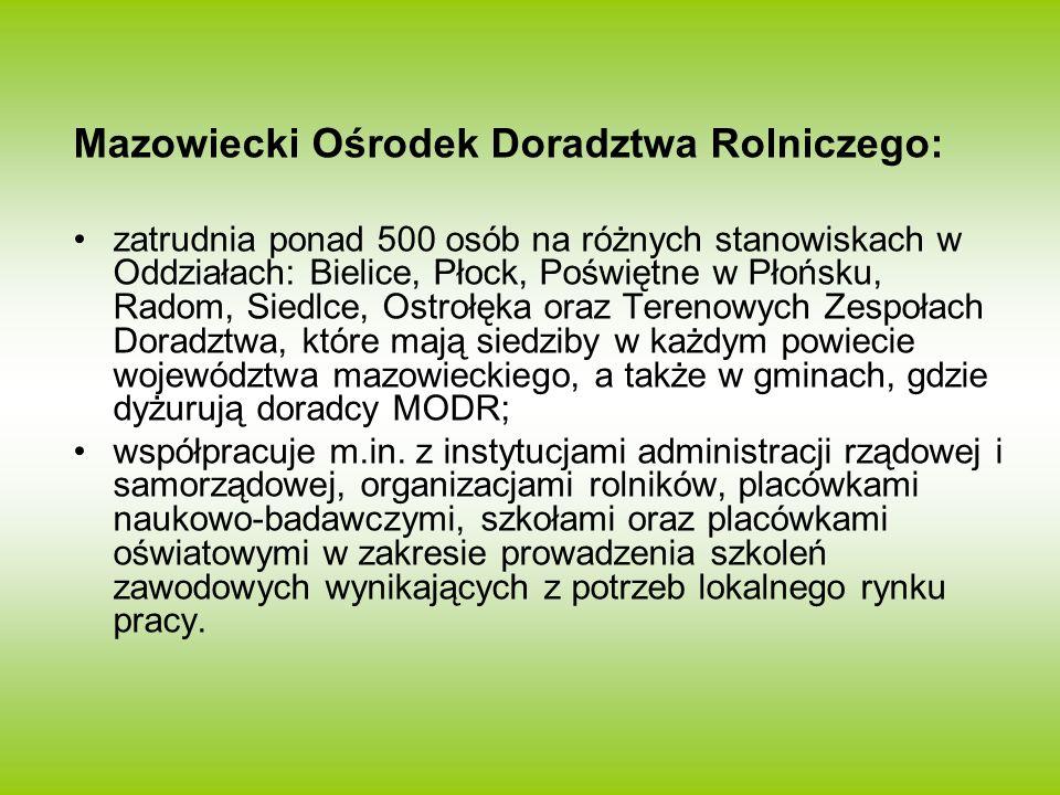 Mazowiecki Ośrodek Doradztwa Rolniczego:
