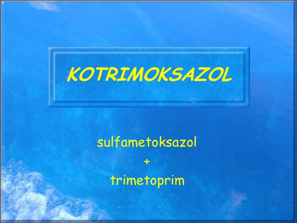 sulfametoksazol + trimetoprim