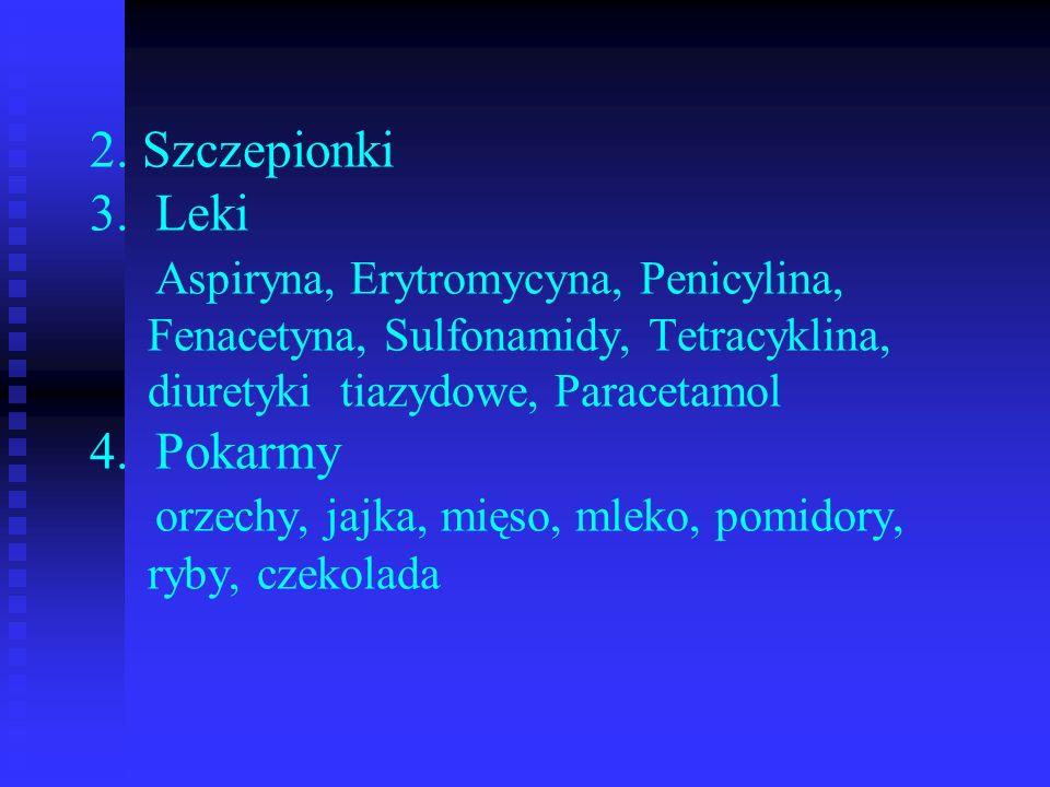 2. Szczepionki 3.