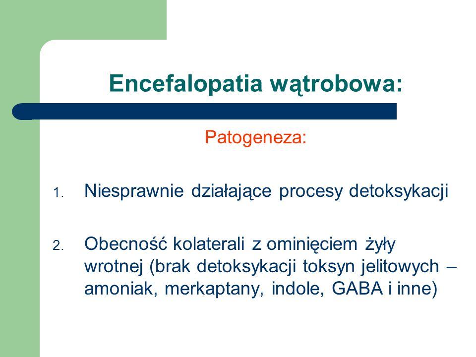 Encefalopatia wątrobowa: