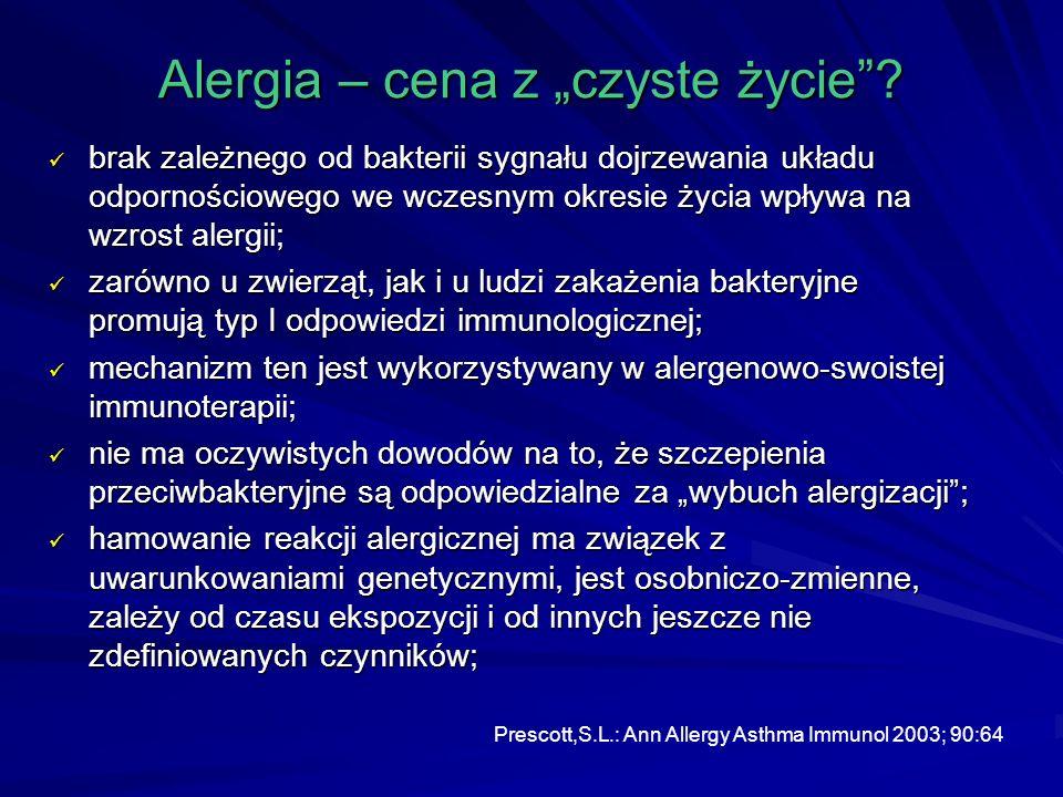 """Alergia – cena z """"czyste życie"""