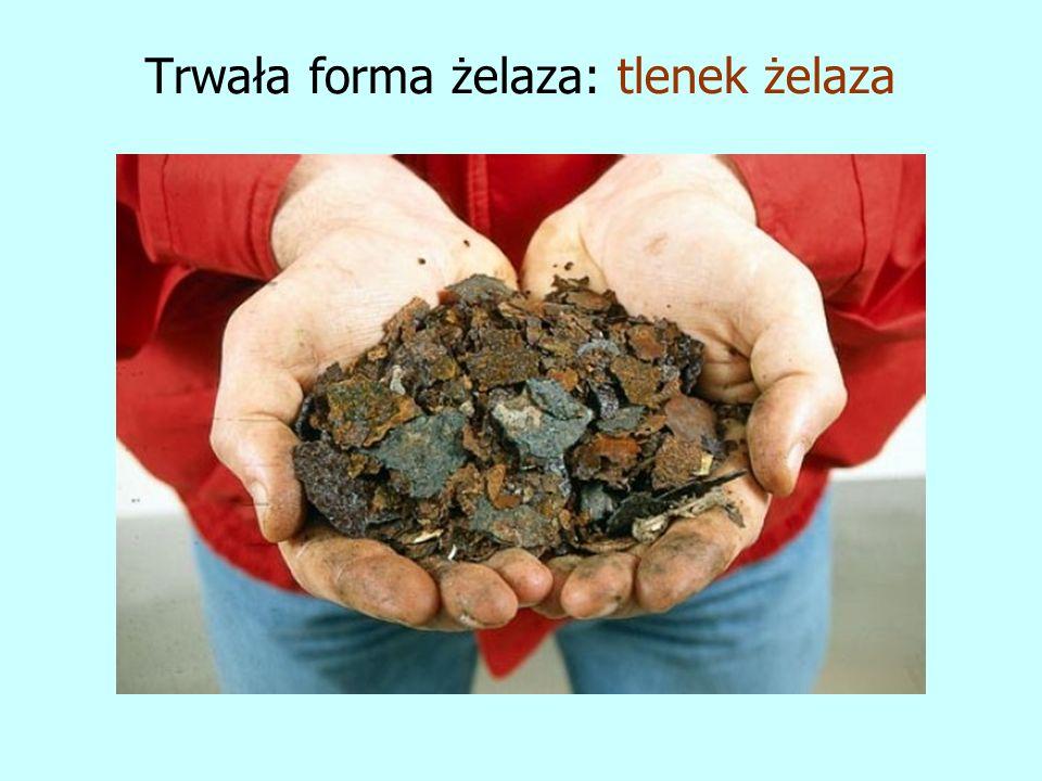 Trwała forma żelaza: tlenek żelaza