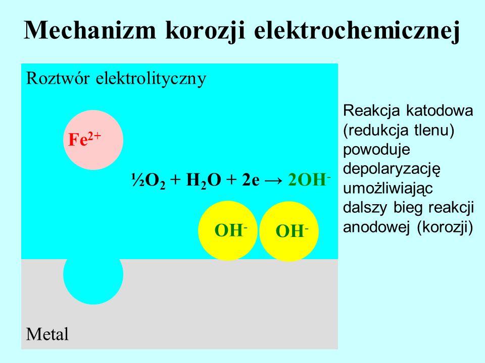 Mechanizm korozji elektrochemicznej