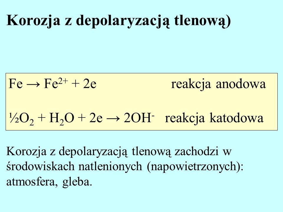 Korozja z depolaryzacją tlenową)
