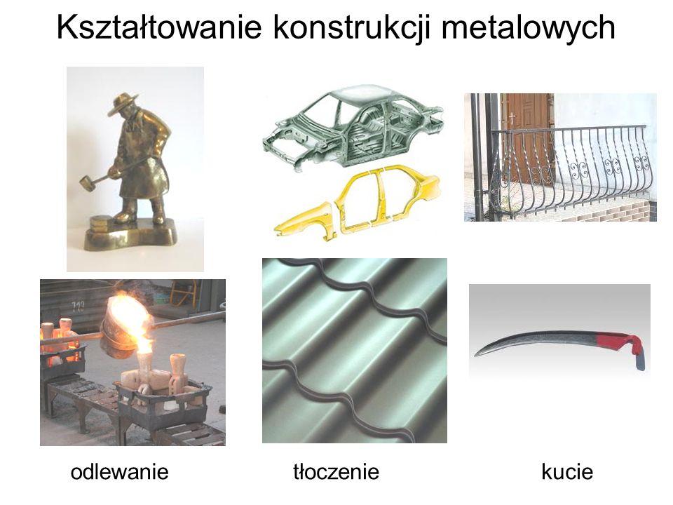 Kształtowanie konstrukcji metalowych