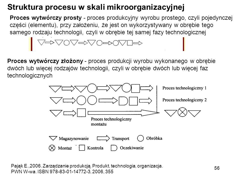 Struktura procesu w skali mikroorganizacyjnej