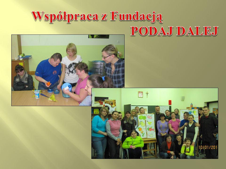 Współpraca z Fundacją PODAJ DALEJ