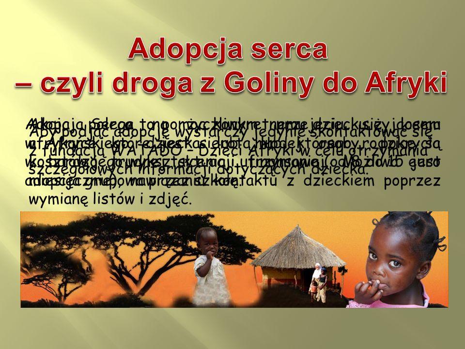 – czyli droga z Goliny do Afryki