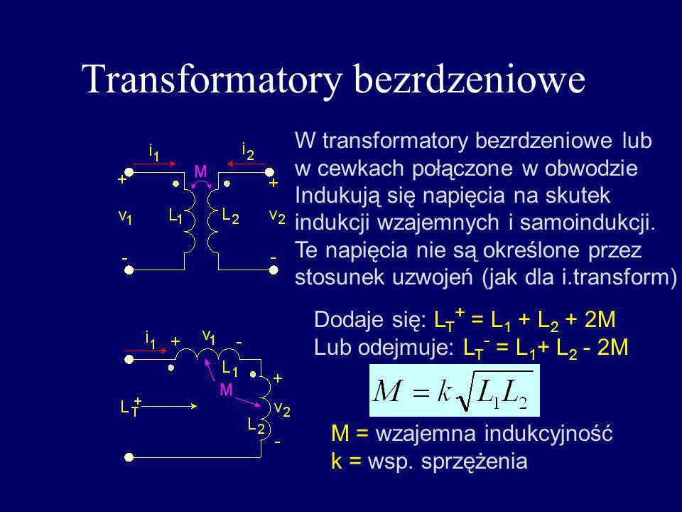 Transformatory bezrdzeniowe