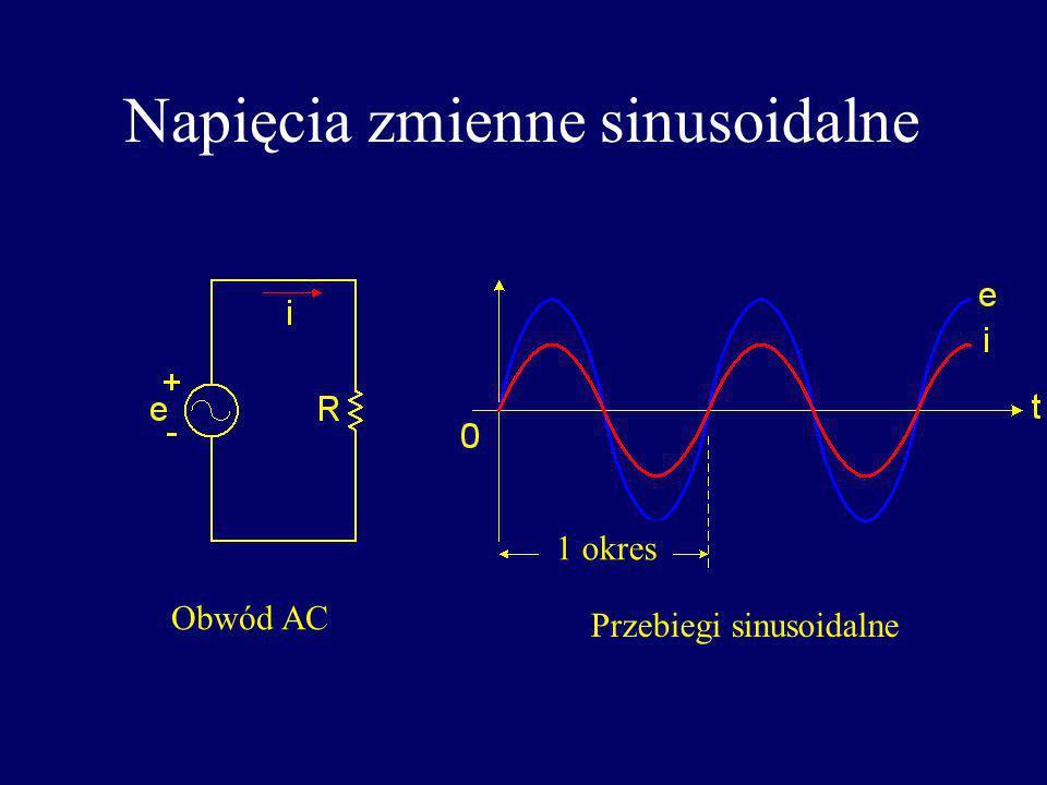 Napięcia zmienne sinusoidalne