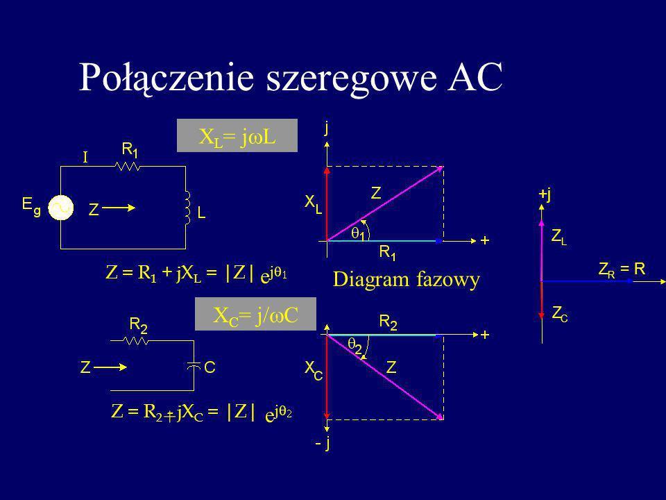 Połączenie szeregowe AC