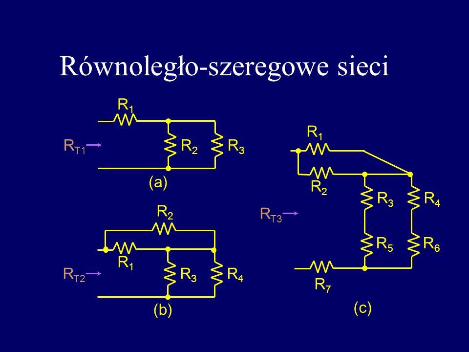 Równoległo-szeregowe sieci