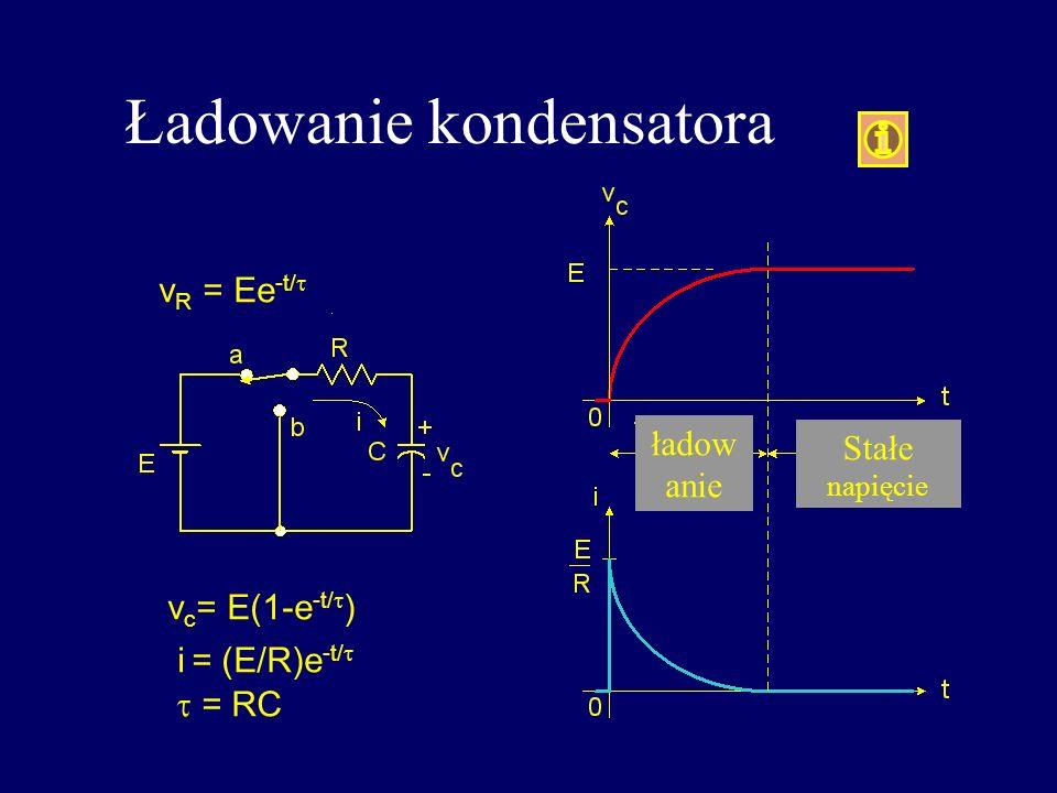 Ładowanie kondensatora