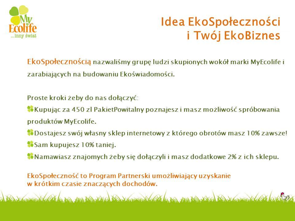 Idea EkoSpołeczności i Twój EkoBiznes