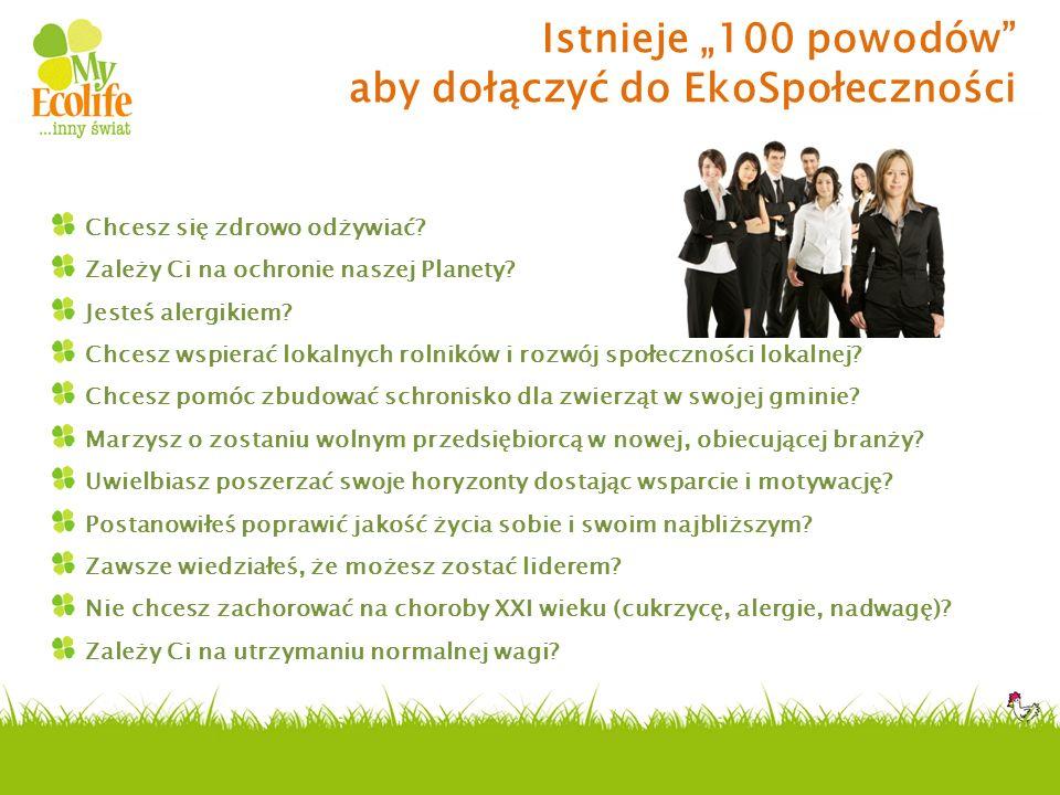 """Istnieje """"100 powodów aby dołączyć do EkoSpołeczności"""