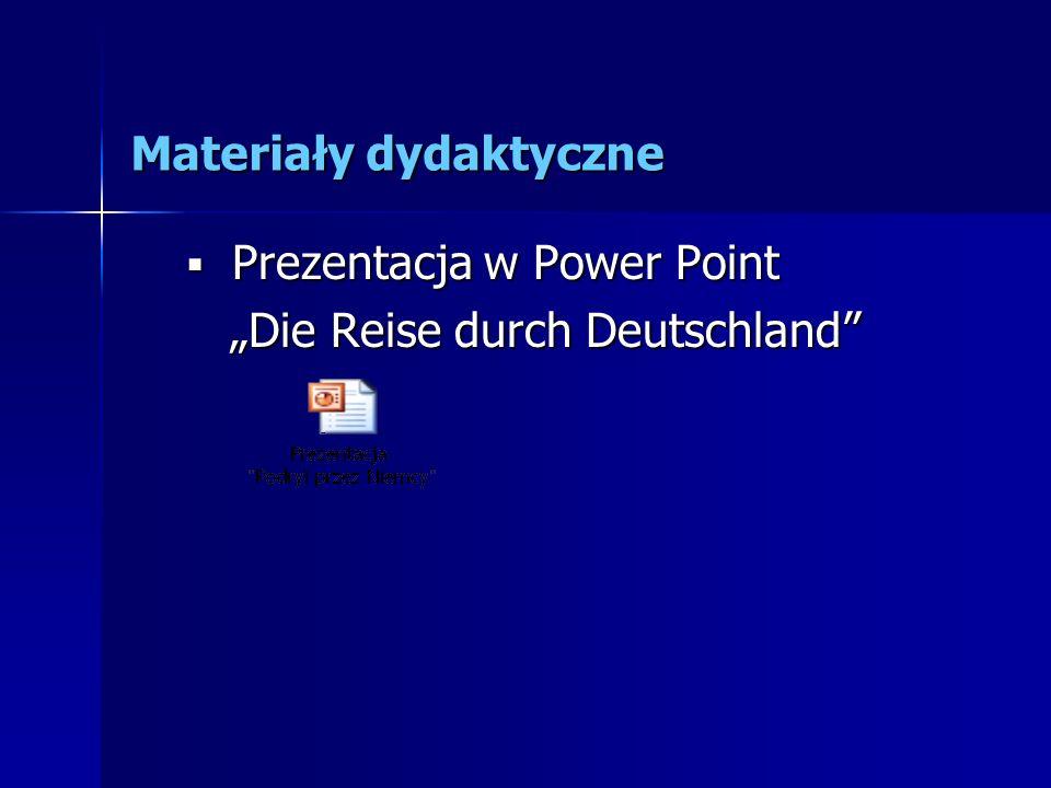 Materiały dydaktyczne