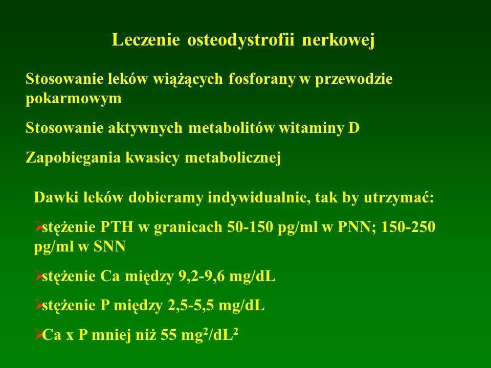 Leczenie osteodystrofii nerkowej