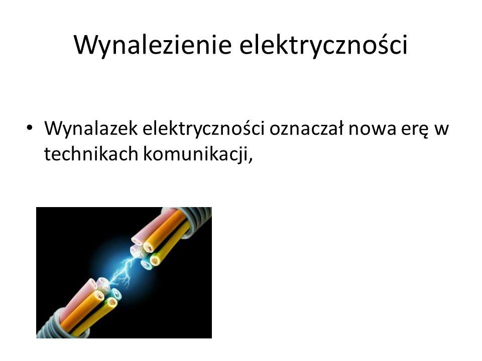 Wynalezienie elektryczności