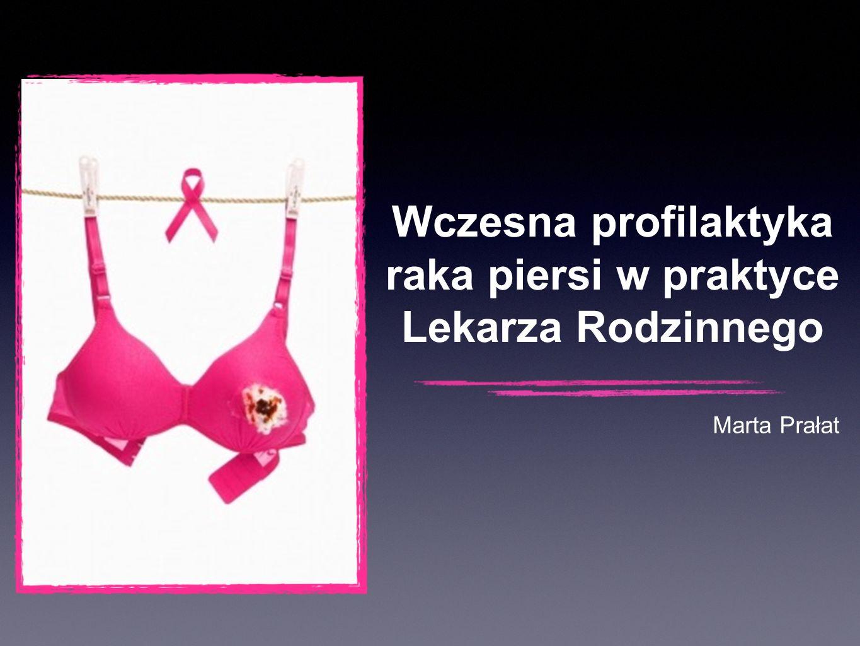 Wczesna profilaktyka raka piersi w praktyce Lekarza Rodzinnego