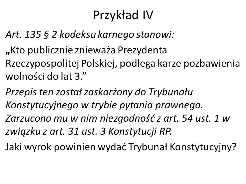 Przykład IV