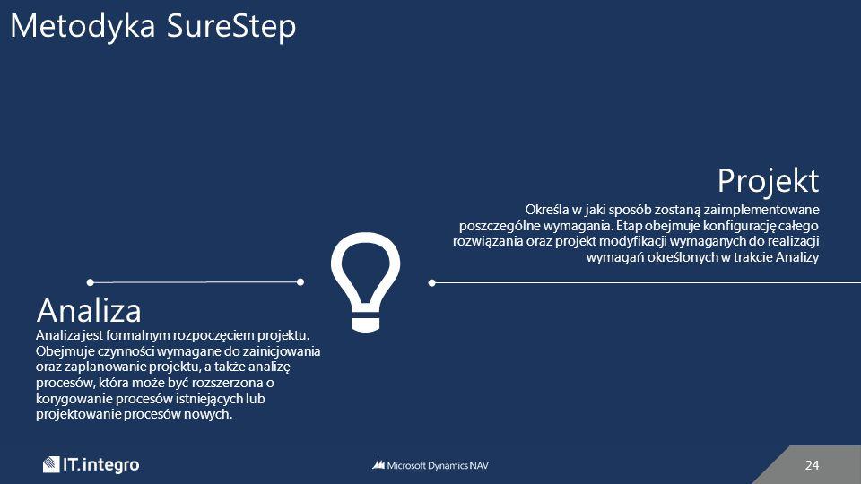Metodyka SureStep Projekt Analiza