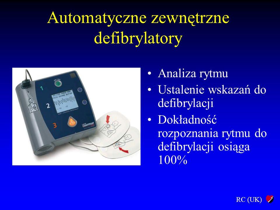 Automatyczne zewnętrzne defibrylatory