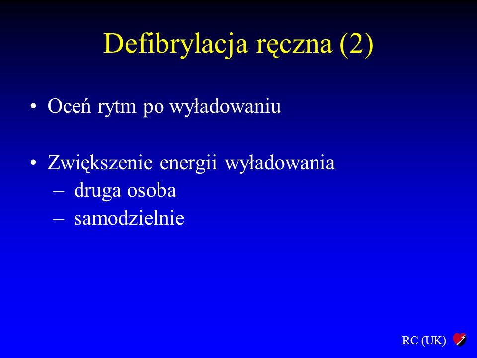 Defibrylacja ręczna (2)
