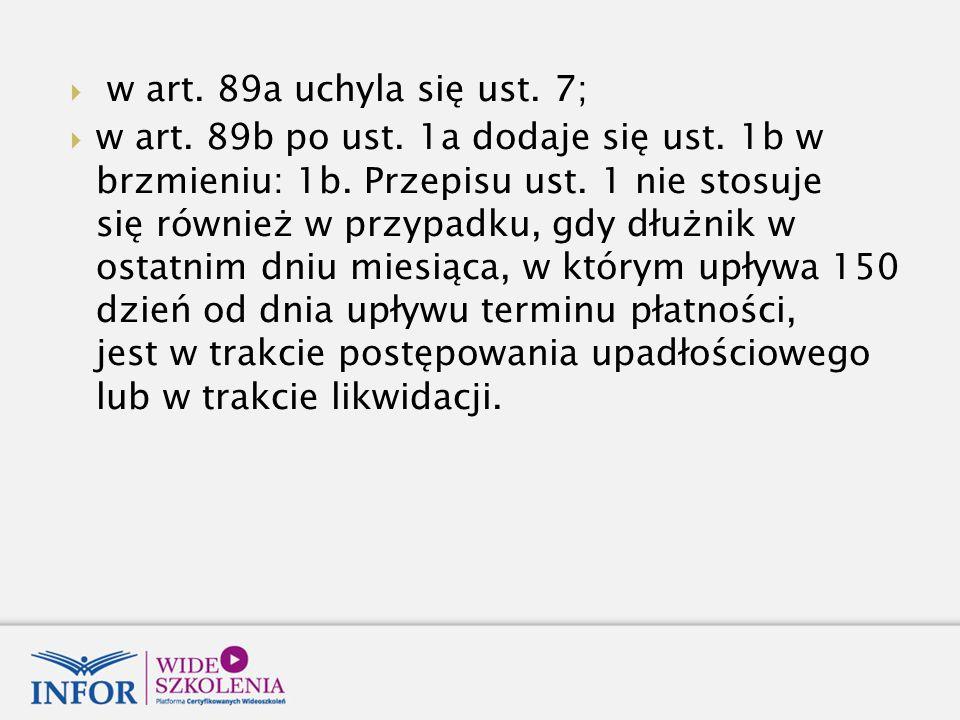 w art. 89a uchyla się ust. 7;