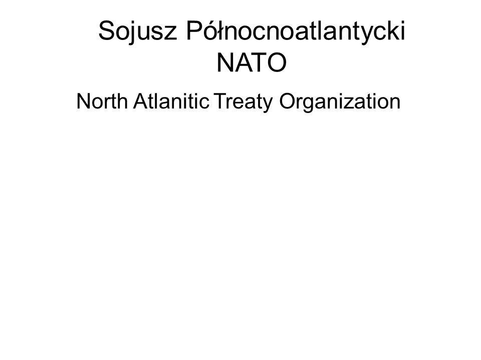 Sojusz Północnoatlantycki NATO