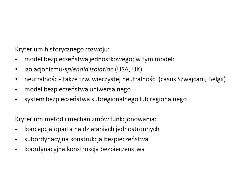 Kryterium historycznego rozwoju: