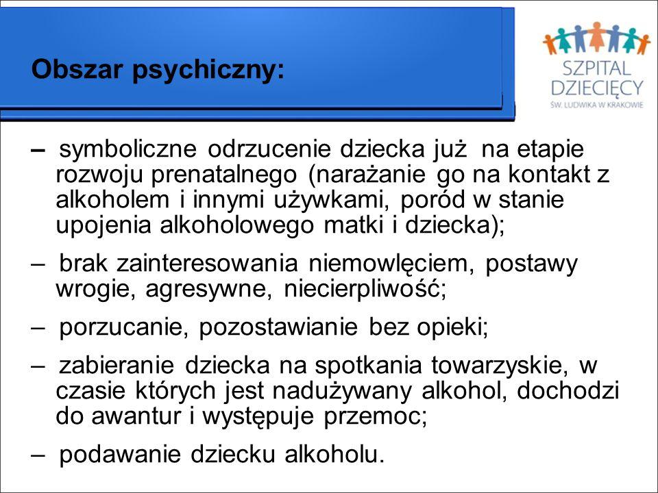 Obszar psychiczny: