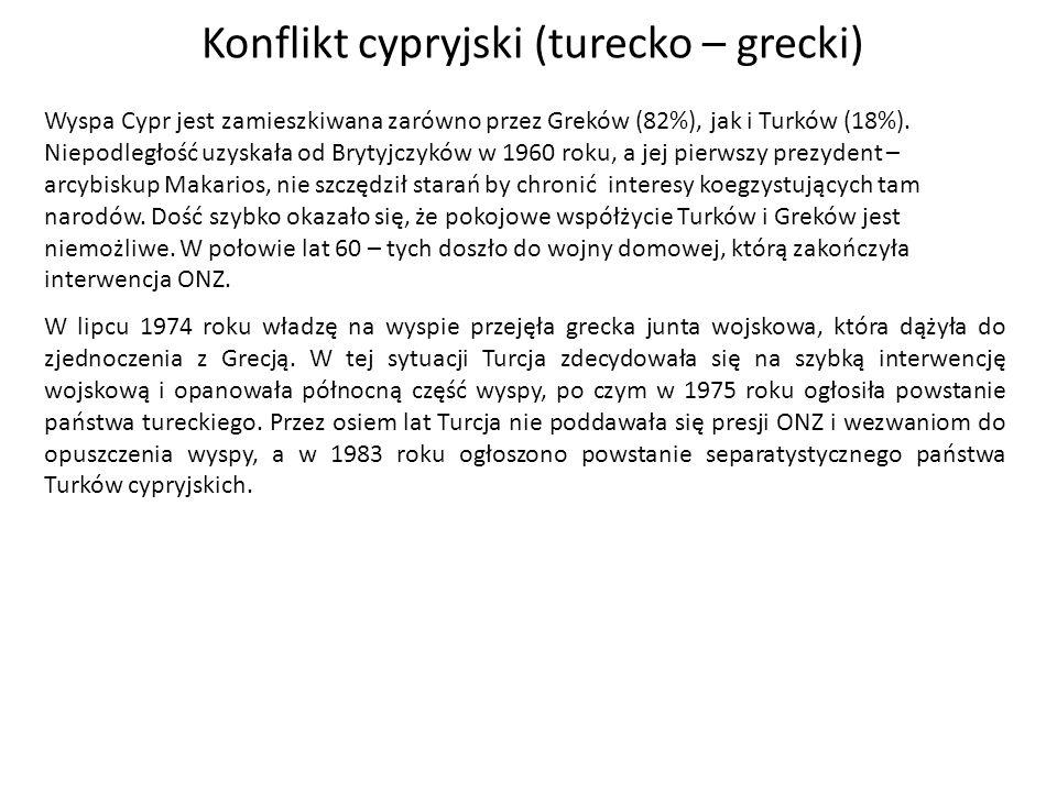 Konflikt cypryjski (turecko – grecki)
