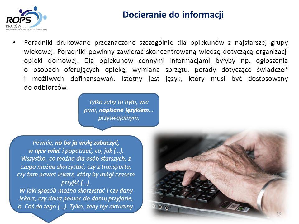 Docieranie do informacji