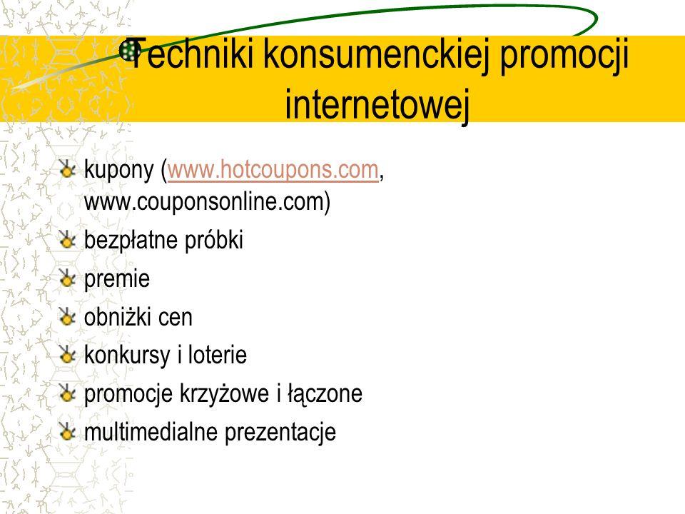 Techniki konsumenckiej promocji internetowej