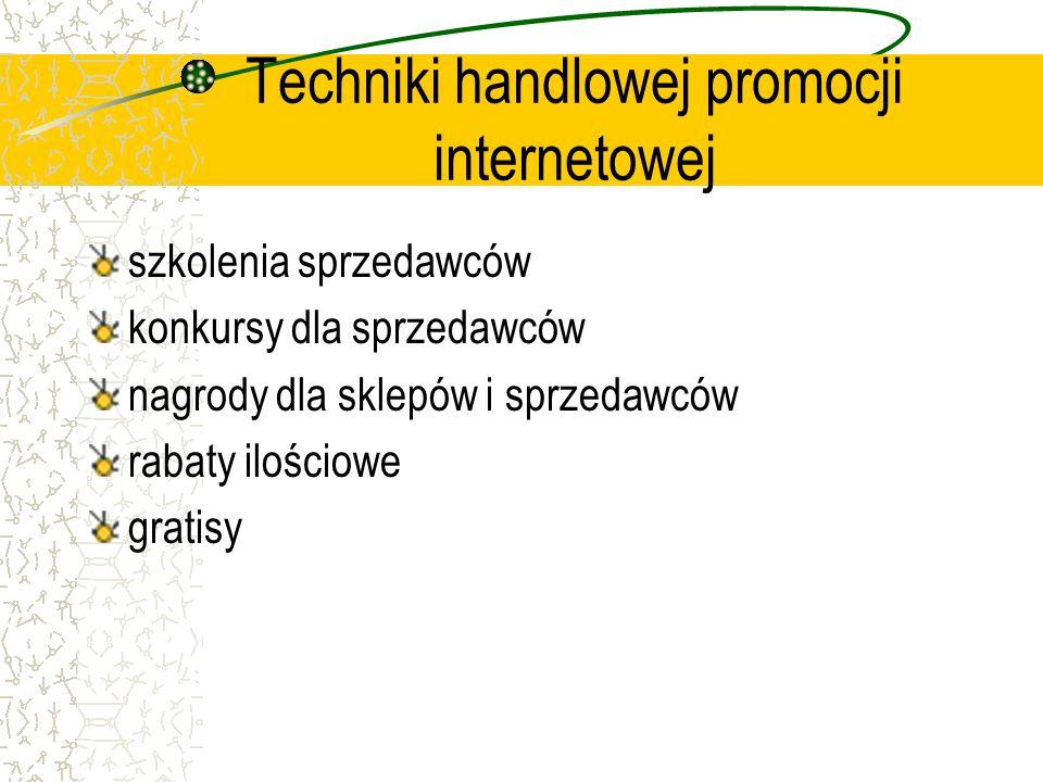 Techniki handlowej promocji internetowej