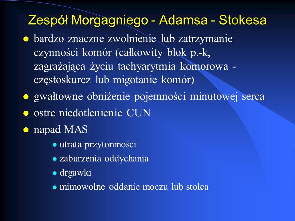Zespół Morgagniego - Adamsa - Stokesa
