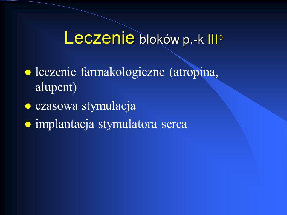 Leczenie bloków p.-k IIIo