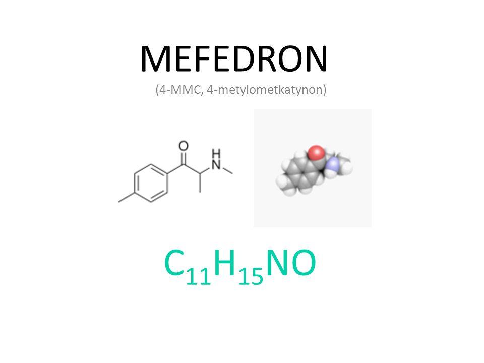 MEFEDRON (4-MMC, 4-metylometkatynon) C11H15NO