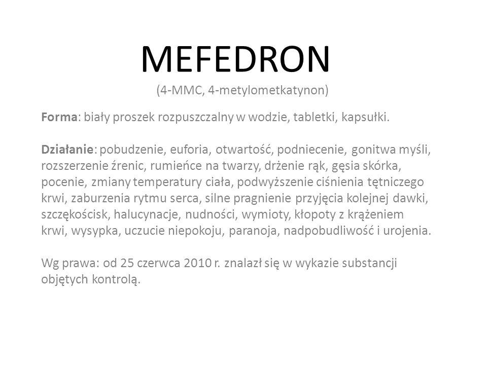 MEFEDRON (4-MMC, 4-metylometkatynon)
