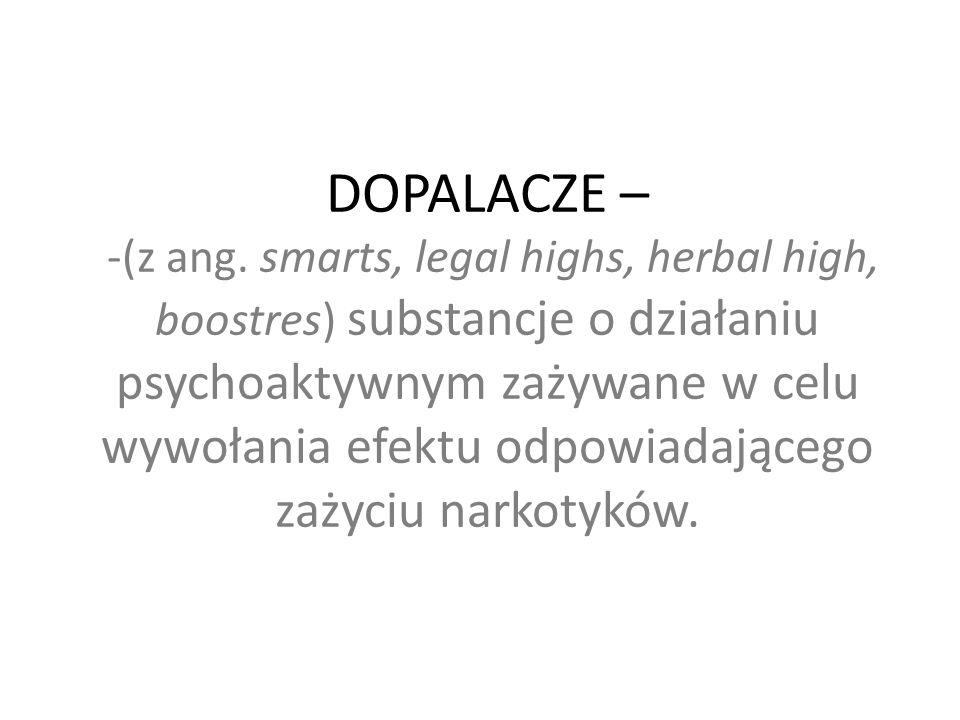 DOPALACZE – -(z ang.
