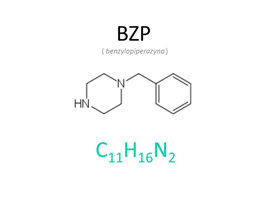 BZP ( benzylopiperazyna ) C11H16N2
