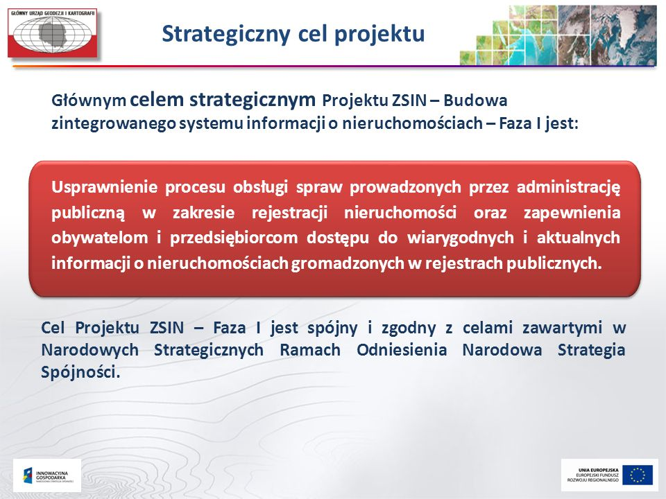 Strategiczny cel projektu