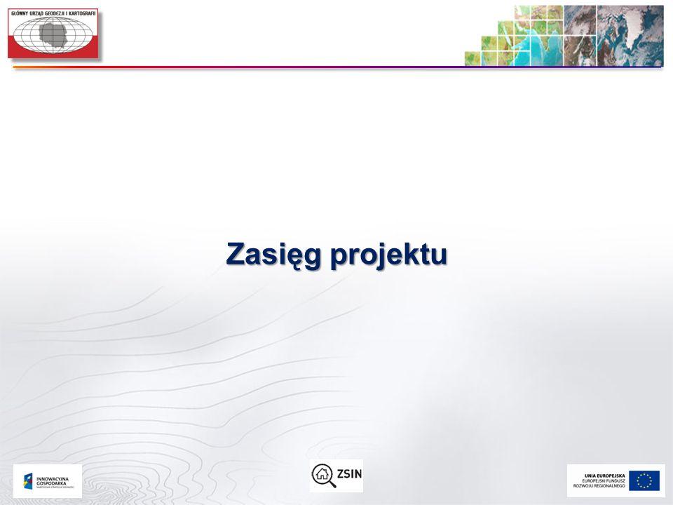 Zasięg projektu