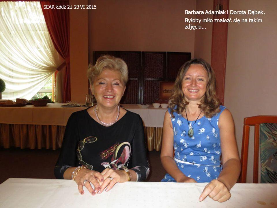 Barbara Adamiak i Dorota Dąbek.